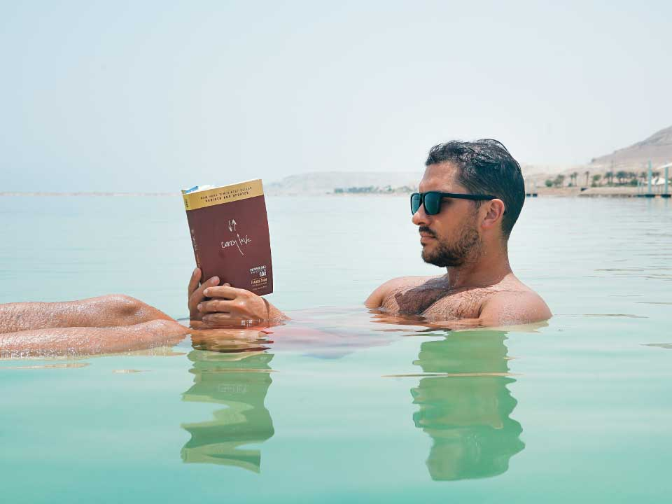 Float therapy on the Dead Sea