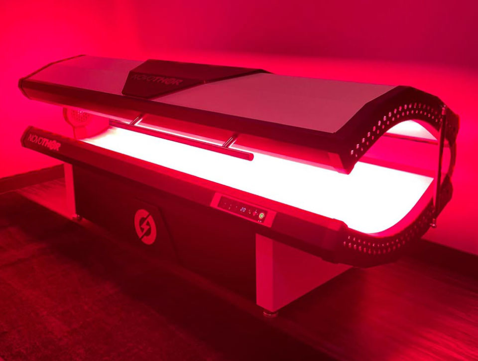 Photo of NovoThor Light Therapy bed